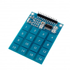 16 Channel Capacitive Touch Key Pad