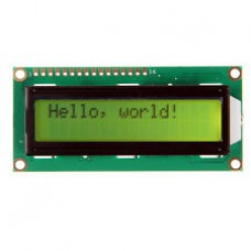 16 x 2  LCD Display with I2C Interface