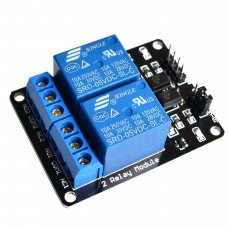 2 Channel 5V DC Relay Module (with optocoupler)