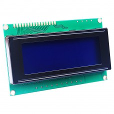 20 x 4 LCD Display with I2C Interface
