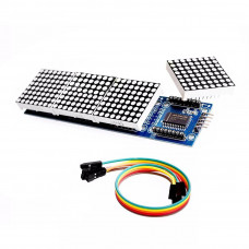4 8x8 LED Dot Matrix Module MAX7219