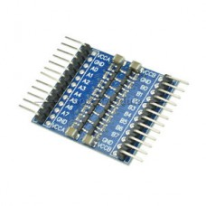 8-Channel TTL Logic Level Converter 5V/3.3V Bi-Directional Module