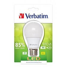 Verbatim 52601 E27 9W Warm White LED Light Bulb