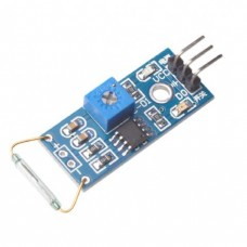 Reed sensor switch module