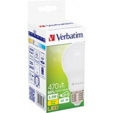 Verbatim  52631  E27 5.5W 470lm Warm White LED Light Bulb